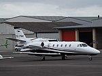 YU-PNK Cessna Citation 560XLS+ Airpink (35914957842).jpg