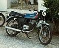 Yamaha RS100 (1977) in Bermuda ca 1991.jpg