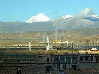 Damxung County - Yangbajing geothermal power station