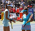 Yaroslava Shvedova and Sania Mirza (5996344134).jpg