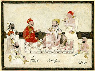 Indore State - Yashwant Rao Holkar and Ranjit Singh in 1805