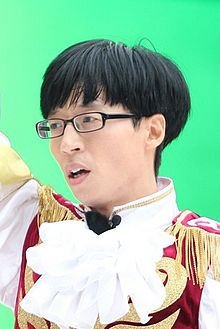 Yoo Jae-suk in September 2013 02.jpg
