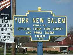 Official logo of New Salem, Pennsylvania