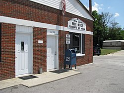 Post office in Yosemite, Kentucky