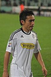 Nagatomo al Cesena nella stagione 2010-2011