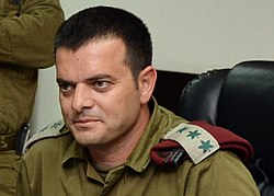Yuval Gerbi.Ashton B. Carter first day in Israel July 21, 2013 130721-M-EV637-354 (9335698013) (cropped).jpg