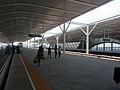 Yuyao Bei Station platform.jpg