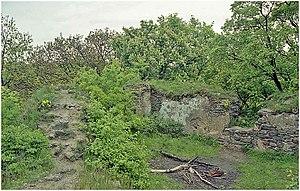 Reste der Burg Hřídelík