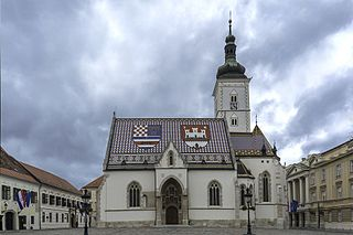 Zagreb City in City of Zagreb, Croatia