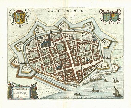 Zaltbommel 1649 Blaeu