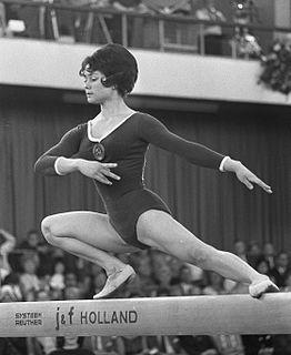 Zinaida Voronina Soviet gymnast