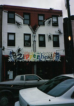 "South Street Headhouse District - Zipperhead (now relocated and changed name) was mentioned in the song ""Punk Rock Girl"" by the Dead Milkmen."
