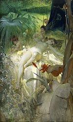 Anders Zorn: The Love Nymph