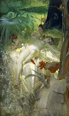 ZORN Anders The Love Nymph 1885