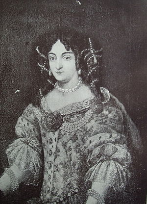 Ilona Zrínyi - Zrínyi Ilona (1643–1703), photo of portrait from the Hungarian National Museum