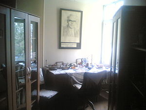 Eduard Zuckmayer - Study room of Eduard Zuckmayer in Ankara