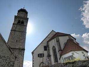 Zuglio - The Church S. Pietro in Carnia