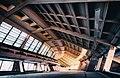 Zvartnots International Airport old terminal - Զվարթնոց միջազգային օդանավակայանի հին մասնաշենքը 01.jpg