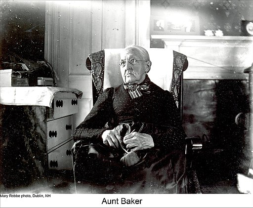 """Aunt Baker"" of Dublin New Hampshire (5084522184)"