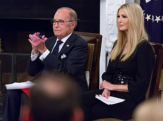 Larry Kudlow - Kudlow with Ivanka Trump in October 2018