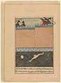 """Siege of Baghdad"", Folio from a Dispersed copy of the Zafarnama (Book of Victories) MET DP247278.jpg"