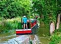 """Zachariah Keppel"" heading towards Brewhurst Bridge, Wey and Arun Canal - geograph.org.uk - 1436723.jpg"