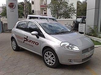 Fiat India Automobiles - Fiat Grande Punto