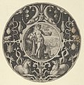 'Aqua' in a Decorative Border with Sea Creatures, from a Series of Circular Designs with the Four Elements MET DP837402.jpg