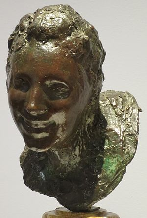 Medardo Rosso - Image: 'Little Laughing Woman' by Medardo Rosso, High Museum
