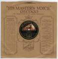 'Sprig of Thyme' - gramophone record by Joseph Taylor - in HMV sleeve - circa 1908.png