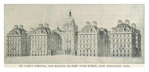 St. Luke's–Roosevelt Hospital Center - Saint Luke's 114th Street under construction