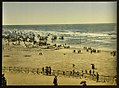 (The beach from the Kursaal, (i.e., Cursaal), Ostend, Belgium) LOC 3887184312.jpg