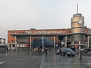 ´s-Hertogenbosch, station ´s-Hertogenbosch foto6 2016-01-23 09.53