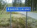 Åskefällalund town sign.jpg