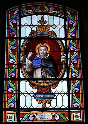 Vincent Ferrer - St. Vincent Ferrer, Église Saint-André (Brech)