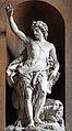 Église Saint-Sulpice (Paris) - Statue de Saint Jean-baptiste de Louis-Simon Boizot.JPG