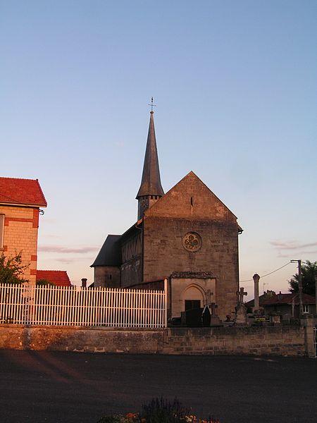 Église Saint-Hilaire d'Écriennes (Classé)