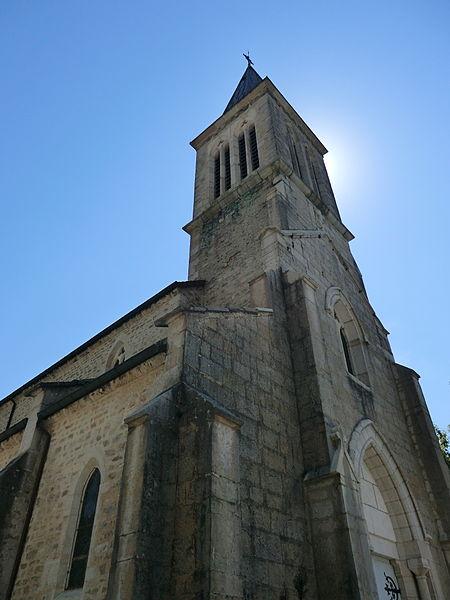 Église de l'Annonciation de La Burbanche.