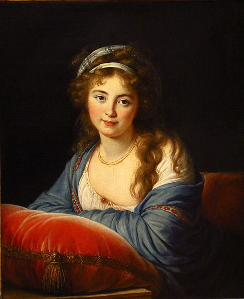 research paper on elizabeth louise vigee le brun