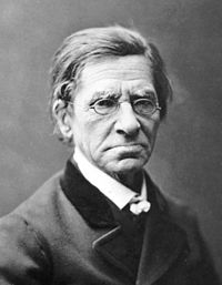 Portrait photographique d'Émile Littré (1801-1881)