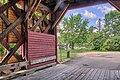 Île Siebert par un des deux ponts couverts entre Saint-Aimé-du-Lac-des-Îles et Kiamika. - panoramio.jpg