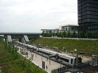 Ørestad Station - Image: Ørestad station