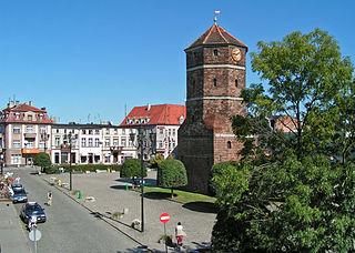 Żnin Place in Kuyavian-Pomeranian Voivodeship, Poland