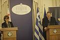 Συνάντηση Αντιπροέδρου της Κυβέρνησης και Υπουργού Εξωτερικών Ευ. Βενιζέλου με Υπουργό Εξωτερικών της Γεωργίας M. Panjikidze (14001953913).jpg