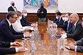 Συνάντηση ΥΠΕΞ Ν. Δένδια με Πρόεδρο Σερβίας A. Vucic (Βελιγράδι, 05.04.2021).jpg