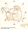 Χάρτης της Τήλου - Antonio Millo - 1582-1591.jpg