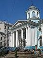 Армянская церковь св. Екатерины, двор01.jpg