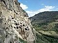 Ва́рдзиа — пещерный монастырский комплекс XII—XIII веков на юге Грузии, в Джавахетии 11.jpg