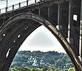 Вид на Видубицький монастир з під залізничного мосту.jpg