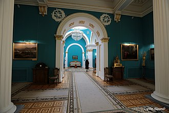 Gomel Palace - This interior exemplifies the Empire style